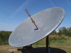 1.7 metre EME receiver