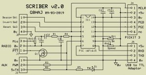 SCRIBER v2.0 Evaluation PCB circuit diagram